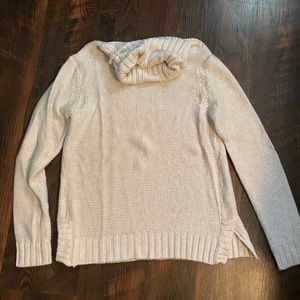Slouch neck sweater